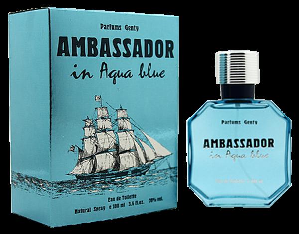 Parfums Genty Ambassador in Aqua Blue (for Men)